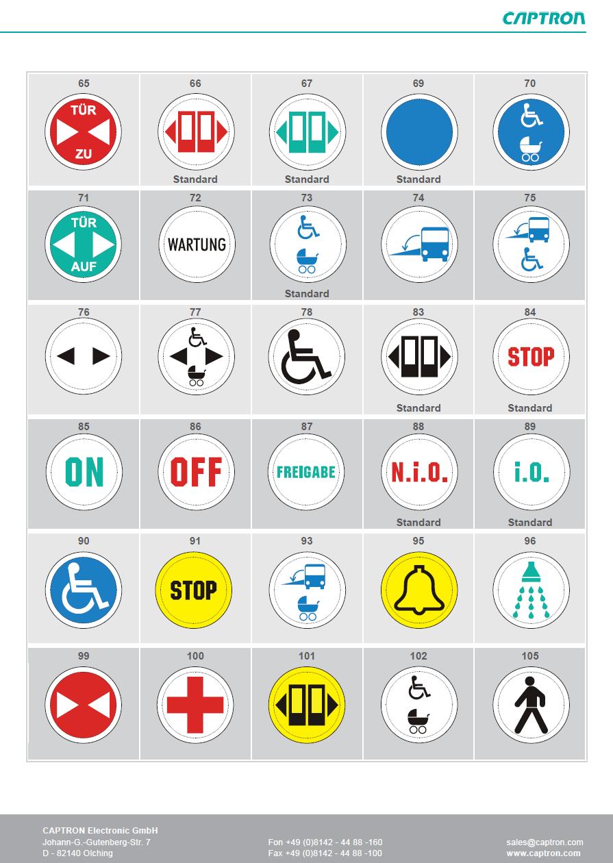 button selection