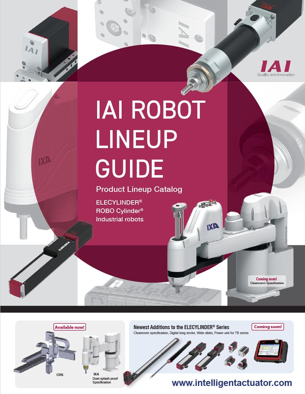 IAI Product Guide