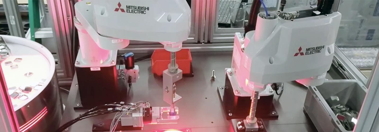 Mitsubishi Robotics Arm