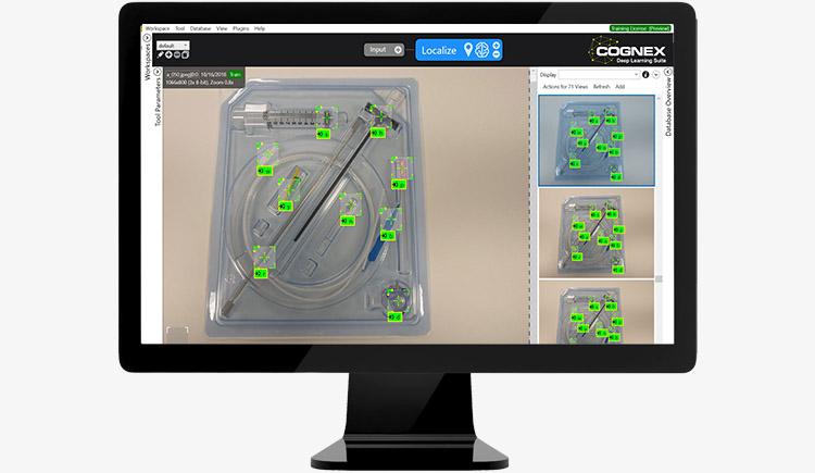 Cognex ViDi Suite - Deep learning-based image analysis software