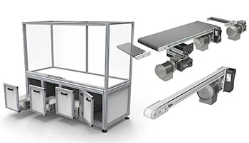 Machine Framing, Guarding and Conveyors